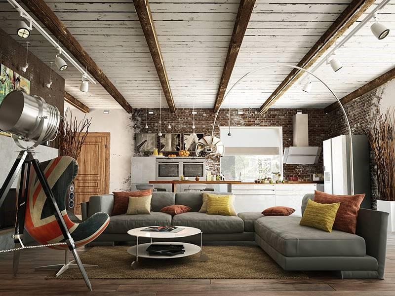 Rustic - Phong cách nội thất mộc mạc của những năm 60 - ARCSENS