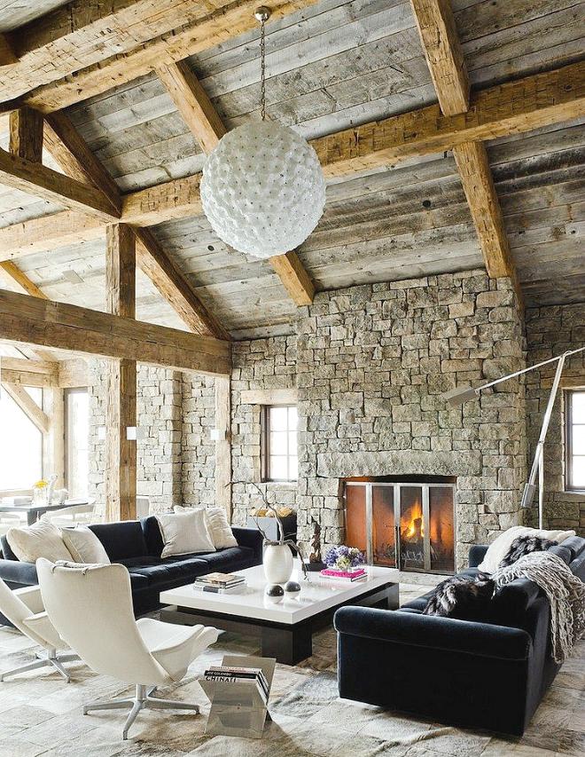 Phong cách thiết kế nội thất Rustic – mộc mạc mà ấn tượng