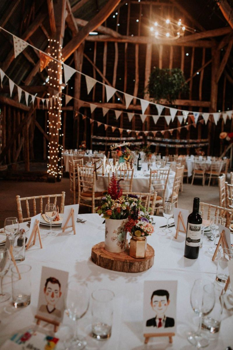 Colourful DIY Barn Wedding at The Manor Barn, Cambridge with Lace & Tulle  Gown | Barn wedding, Rustic barn wedding decorations, Rustic burlap wedding