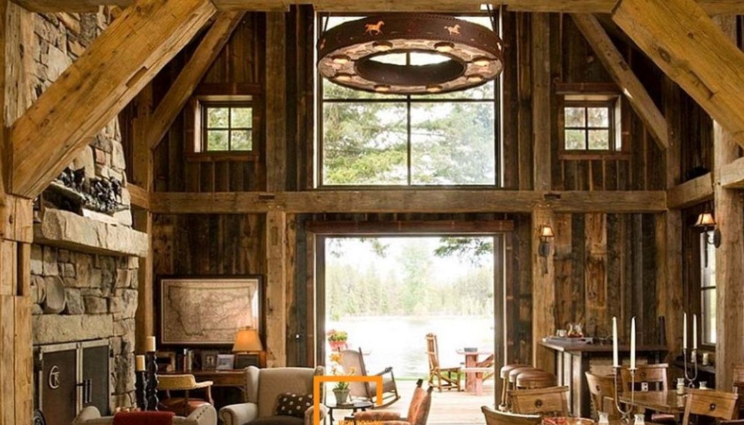 Thiết kế nhà hàng phong cách Rustic mang vẻ đẹp mộc mạc, gần gũi -  KenDesign chuyên thiết kế thi công nội thất nhà hàng khách sạn